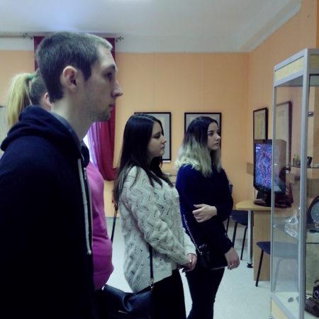 Посещение выставки «Природа Дмитровского края на старых картах»