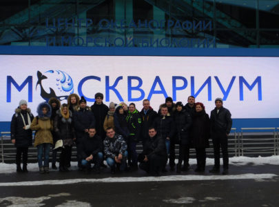 15 февраля 2018 года для  групп ОВА-21, ОВА-31, ЗВРС-31, ЗВР-31 состоялось выездное занятие в ЦЕНТР ОКЕАНОГРАФИИ И МОРСКОЙ БИОЛОГИИ «МОСКВАРИУМ»на ВДНХа.