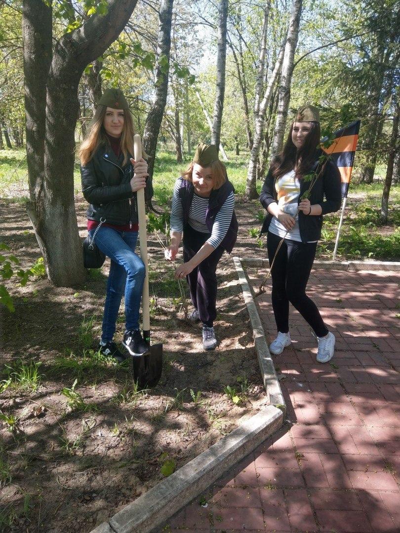 Акция «Лес Победы» в ДРТИ