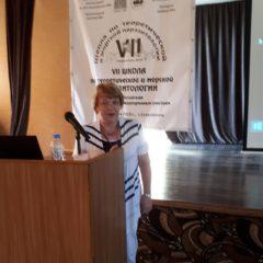 Нина Александровна готовиться к докладу.
