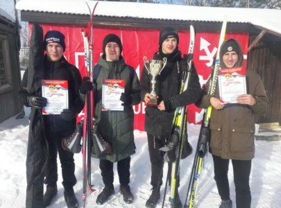 Команда ДРТИ заняла второе место в лыжных соревнованиях